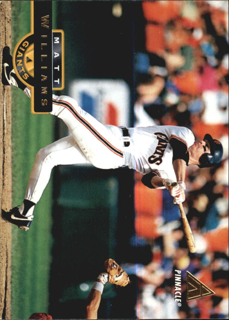 1994 Pinnacle #298 Matt Williams