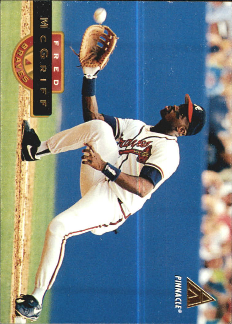 1994 Pinnacle #384 Fred McGriff