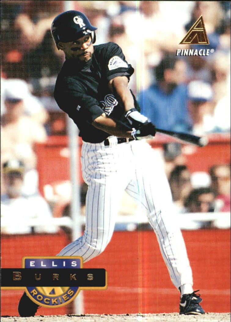 1994 Pinnacle #496 Ellis Burks