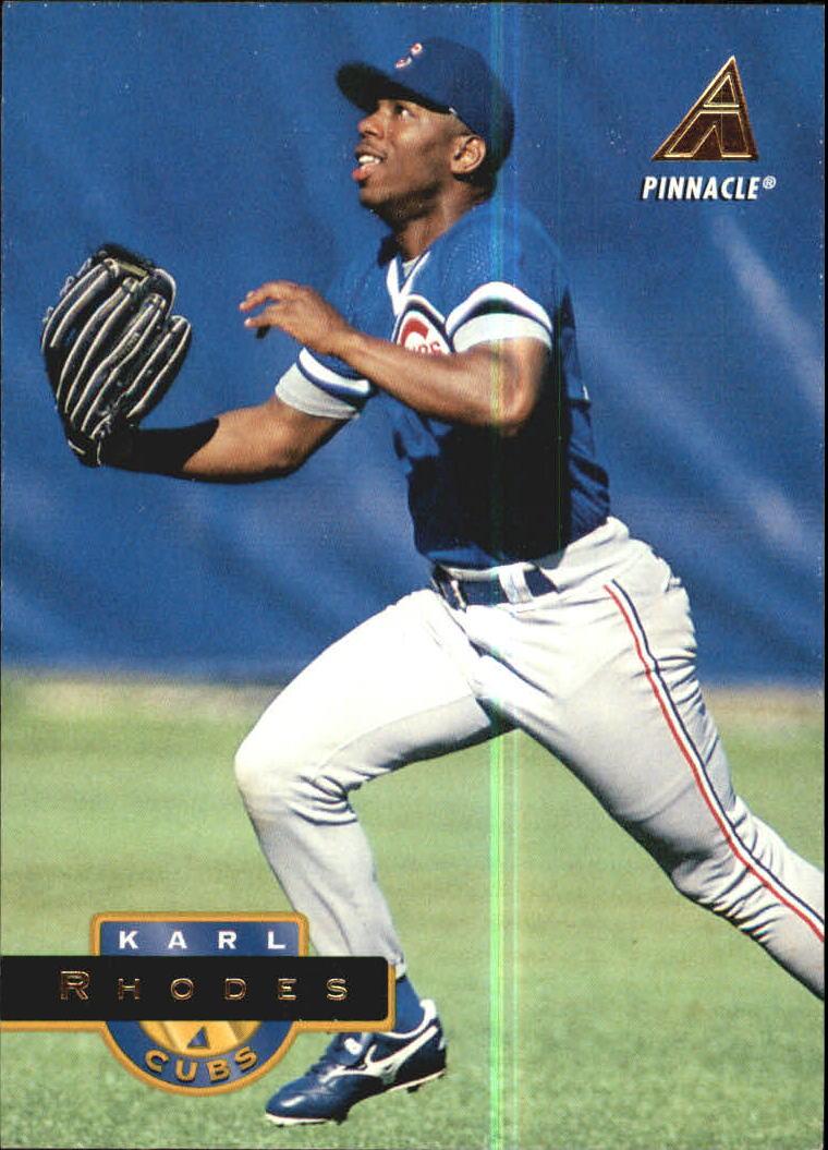 1994 Pinnacle #497 Karl Rhodes