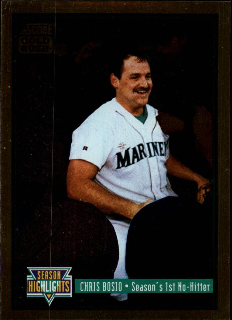 1994 Score Gold Rush #316 Chris Bosio