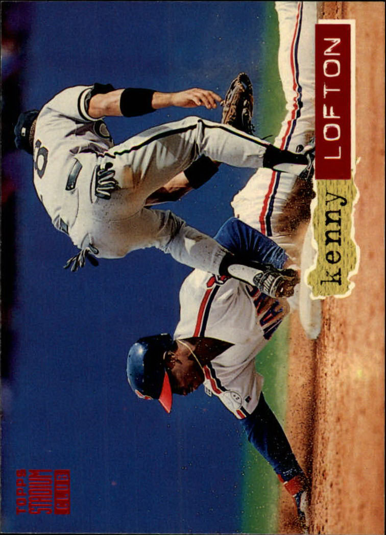 1994 Stadium Club #301 Kenny Lofton