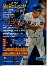1994 Stadium Club #324 Jeff McKnight back image