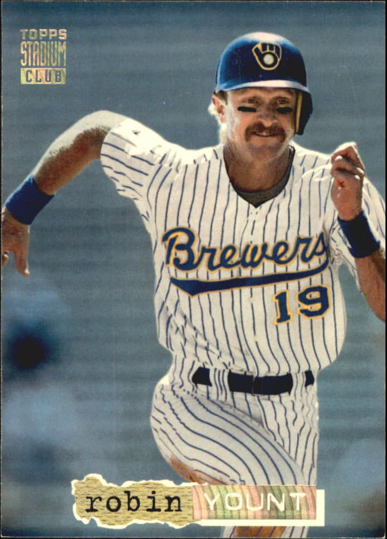 1994 Stadium Club Golden Rainbow #1 Robin Yount
