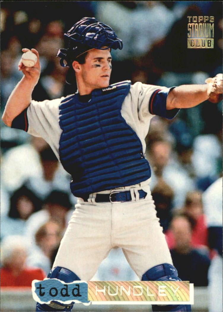 1994 Stadium Club Golden Rainbow #82 Todd Hundley
