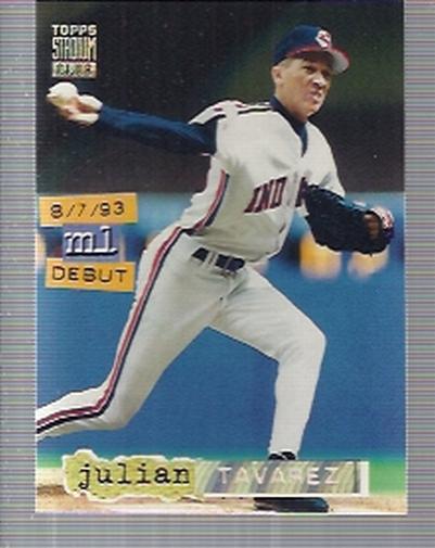 1994 Stadium Club Golden Rainbow #128 Julian Tavarez