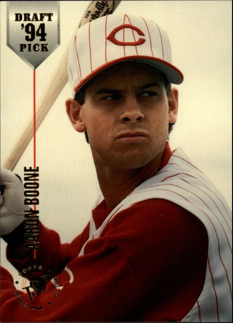 1994 Stadium Club Draft Picks #10 Aaron Boone XRC