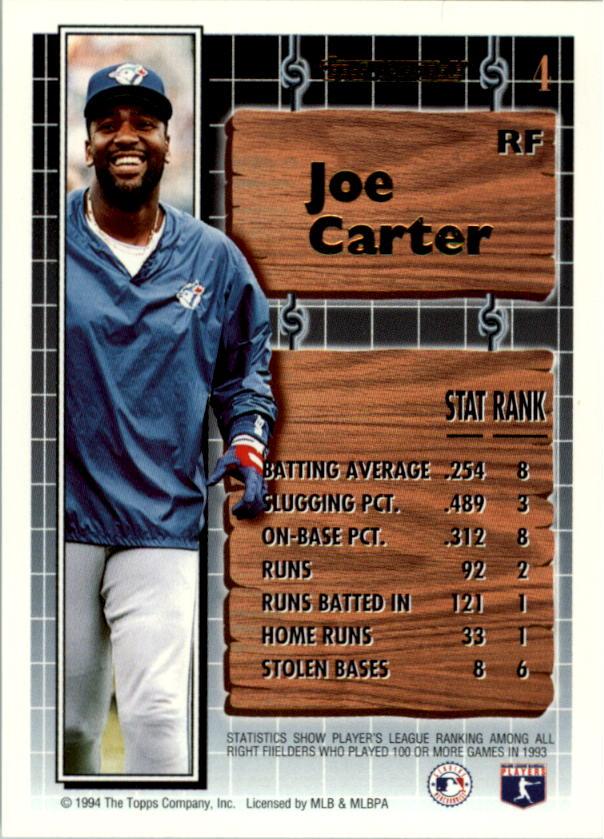 1994-Topps-Black-Gold-Baseball-1-38-Your-Choice-GOTBASEBALLCARDS thumbnail 7
