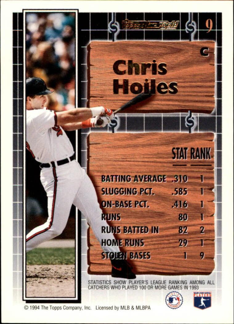 1994-Topps-Black-Gold-Baseball-1-38-Your-Choice-GOTBASEBALLCARDS thumbnail 15