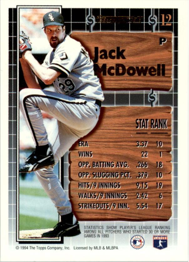 1994-Topps-Black-Gold-Baseball-1-38-Your-Choice-GOTBASEBALLCARDS thumbnail 19
