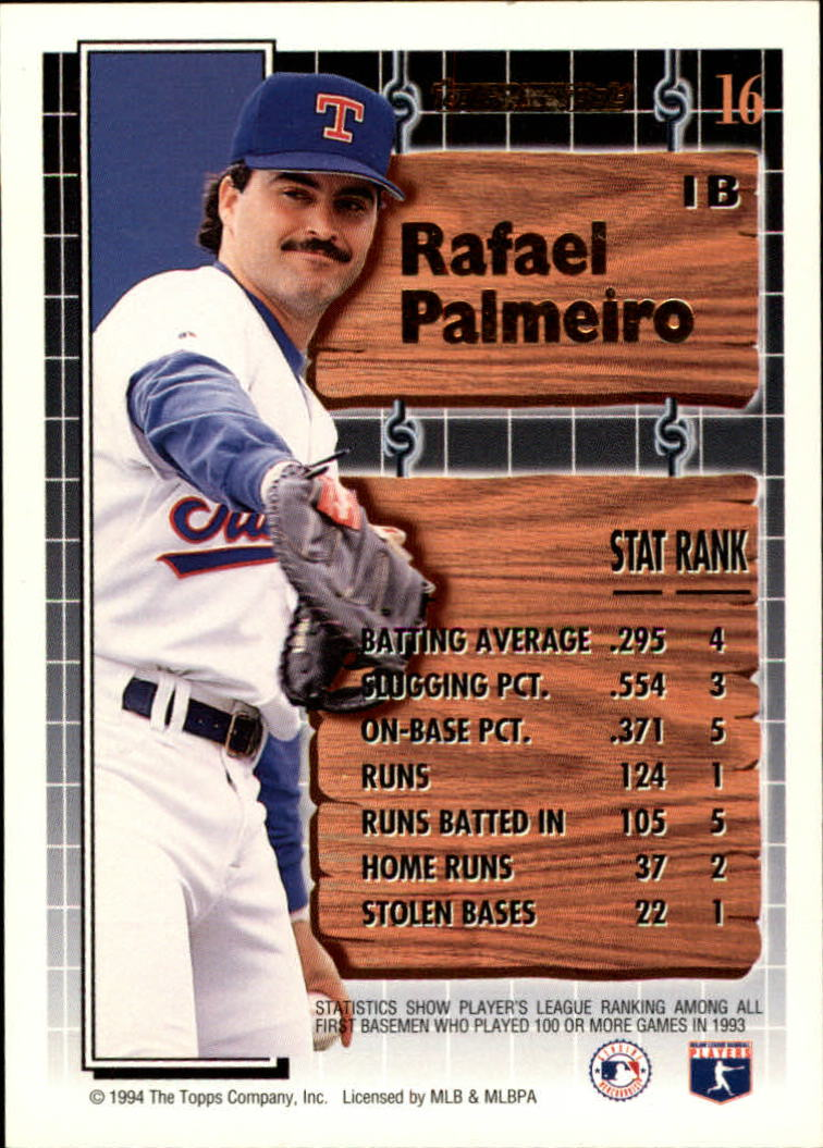 1994-Topps-Black-Gold-Baseball-1-38-Your-Choice-GOTBASEBALLCARDS thumbnail 25