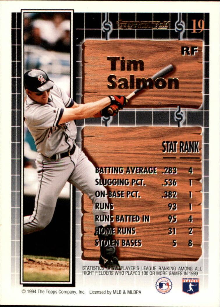 1994-Topps-Black-Gold-Baseball-1-38-Your-Choice-GOTBASEBALLCARDS thumbnail 29