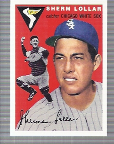 1994 Topps Archives 1954 #39 Sherm Lollar