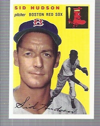 1994 Topps Archives 1954 #93 Sid Hudson