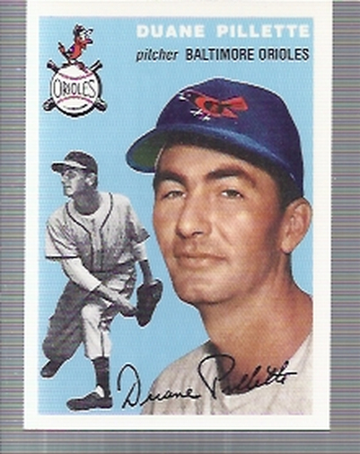 1994 Topps Archives 1954 #107 Duane Pillette