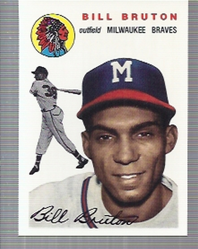 1994 Topps Archives 1954 #109 Bill Bruton