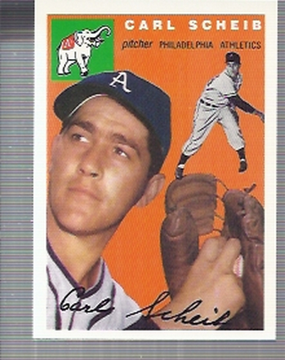1994 Topps Archives 1954 #118 Carl Scheib