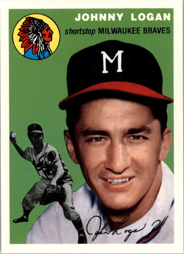 1994 Topps Archives 1954 #122 Johnny Logan
