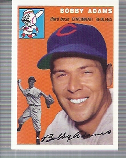 1994 Topps Archives 1954 #123 Bobby Adams