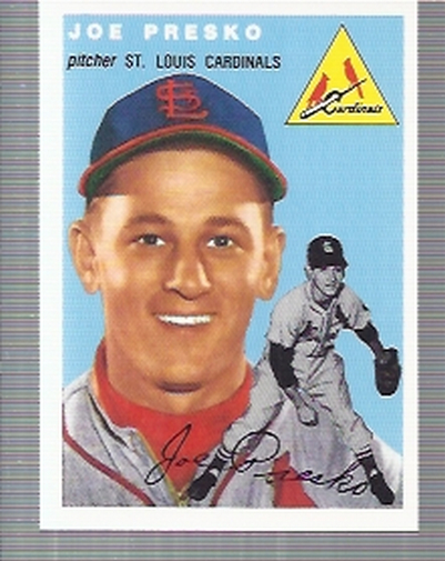 1994 Topps Archives 1954 #135 Joe Presko