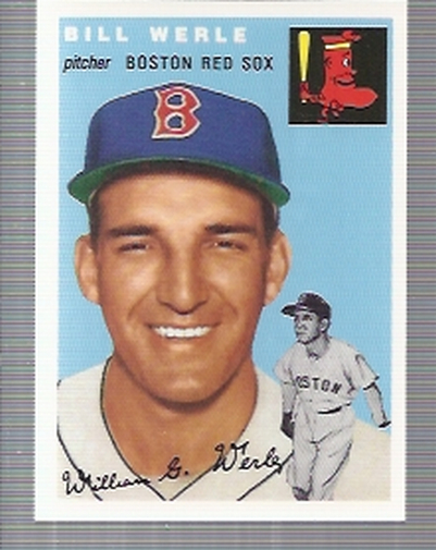 1994 Topps Archives 1954 #144 Bill Werle