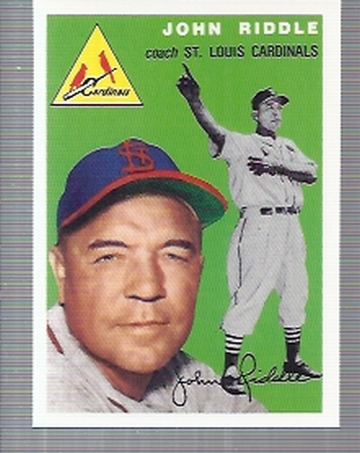 1994 Topps Archives 1954 #147 John Riddle CO