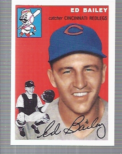 1994 Topps Archives 1954 #184 Ed Bailey