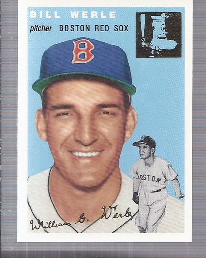 1994 Topps Archives 1954 Gold #144 Bill Werle