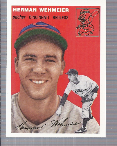 1994 Topps Archives 1954 Gold #162 Herman Wehmeier