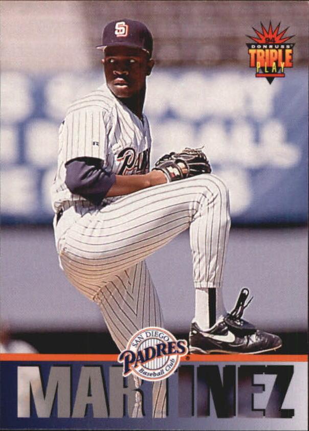 1994 Triple Play #169 Pedro Martinez RC
