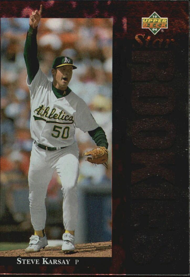 1994 Upper Deck #20 Steve Karsay