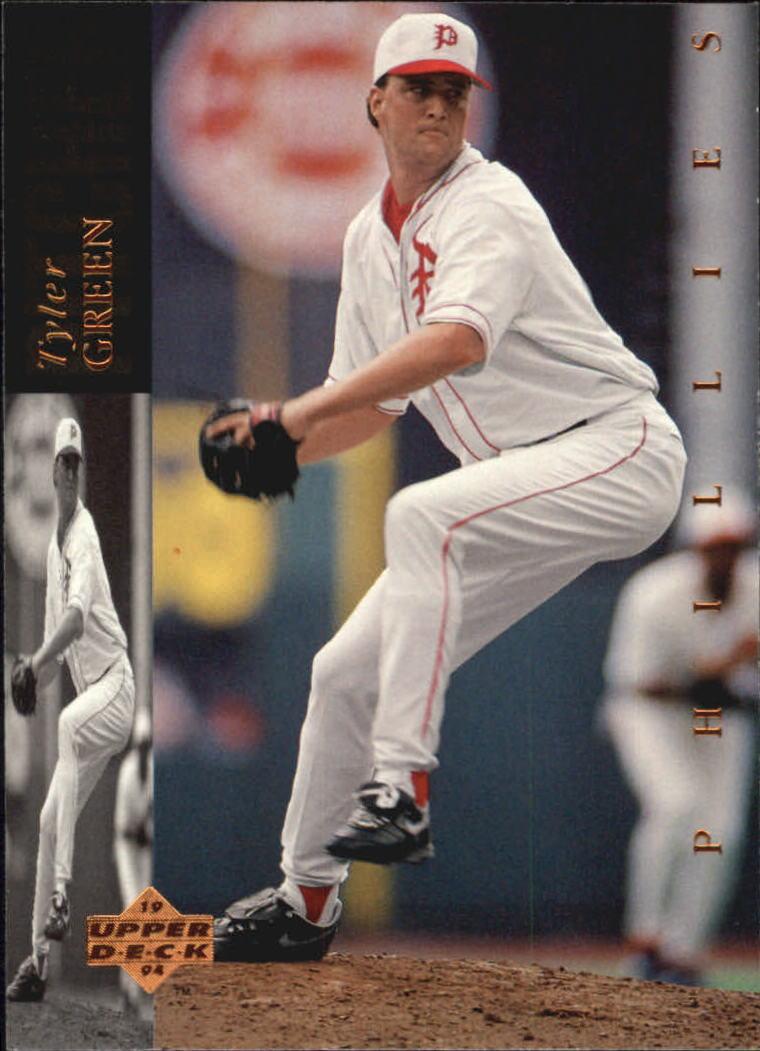 1994 Upper Deck #72 Tyler Green