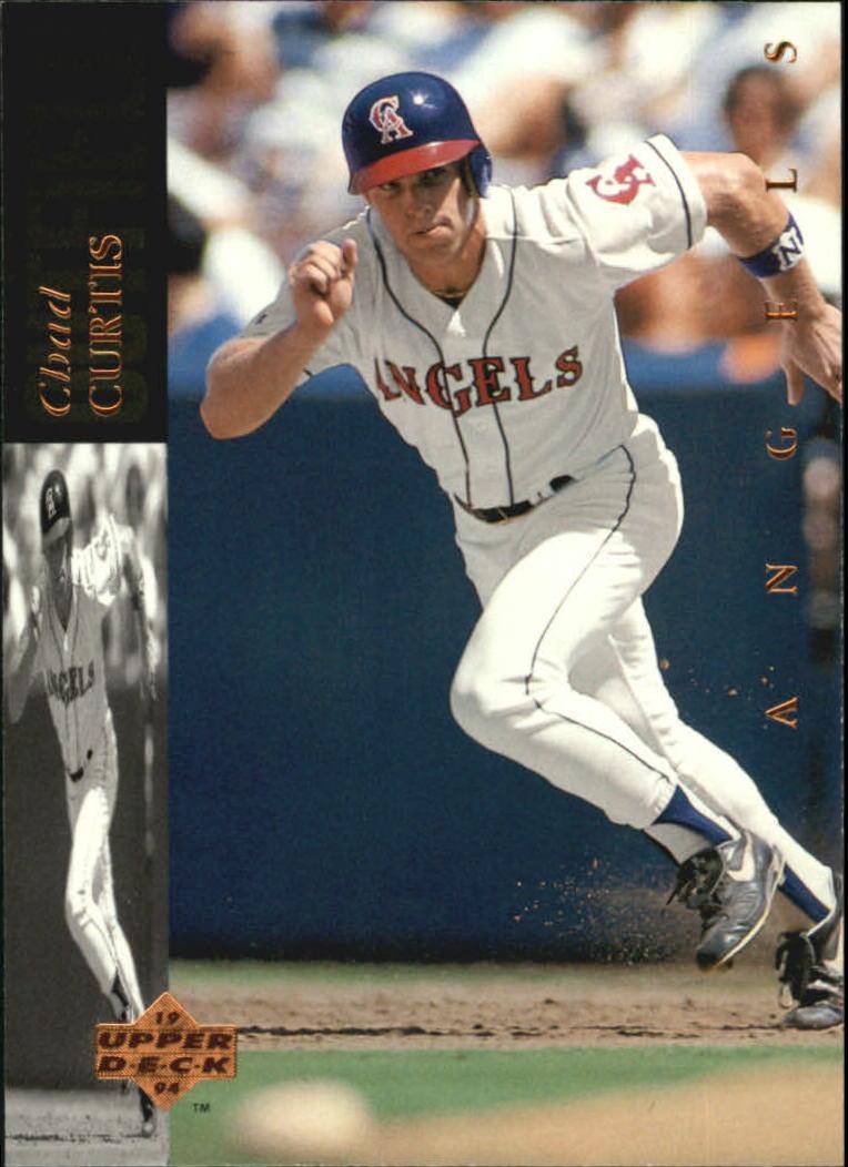 1994 Upper Deck #82 Chad Curtis