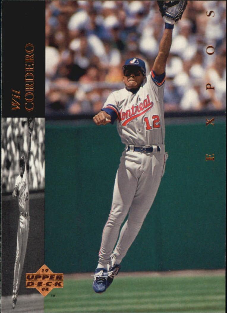 1994 Upper Deck #97 Wil Cordero