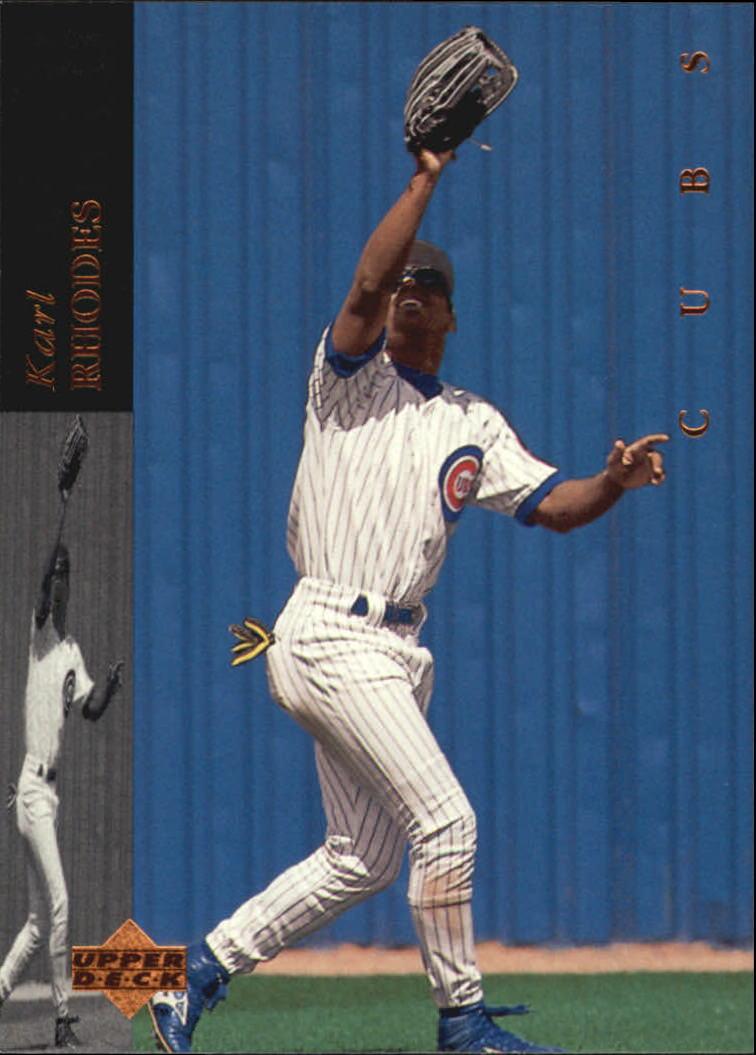 1994 Upper Deck #492 Karl Rhodes