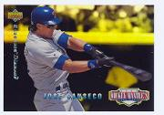 1994 Upper Deck Mantle's Long Shots Electric Diamond #MM4 Jose Canseco