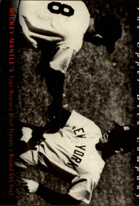 1994 Upper Deck All-Time Heroes #7 Mickey Mantle OW