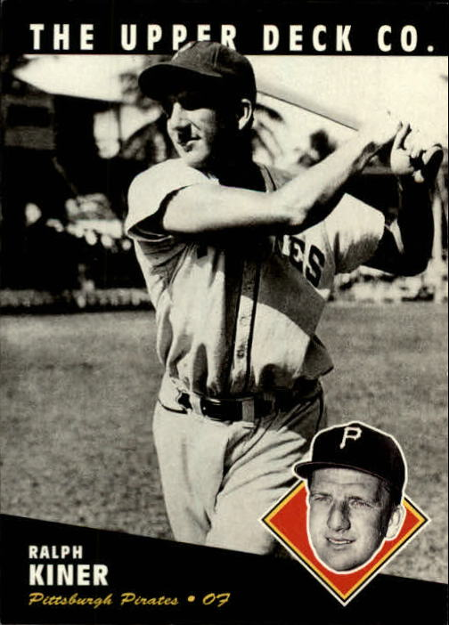 1994 Upper Deck All-Time Heroes #49 Ralph Kiner
