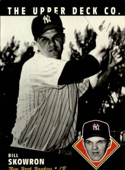 1994 Upper Deck All-Time Heroes #66 Bill Skowron
