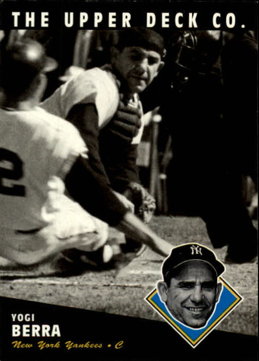 1994 Upper Deck All-Time Heroes #145 Yogi Berra