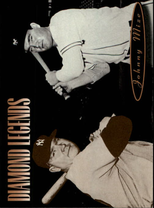 1994 Upper Deck All-Time Heroes #161 Johnny Mize LGD