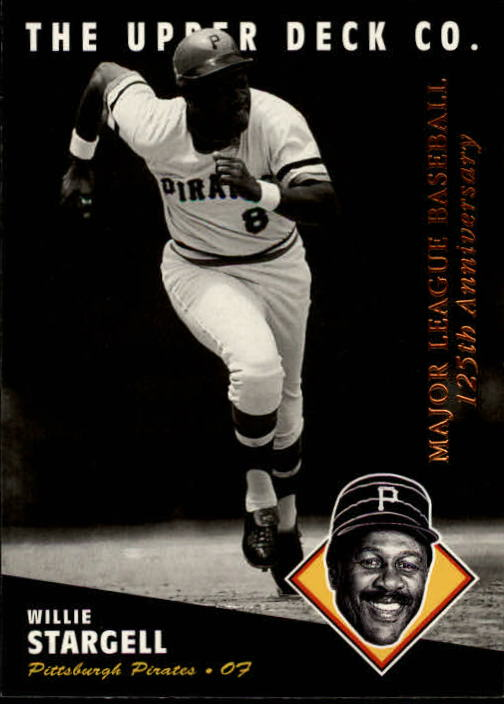 1994 Upper Deck All-Time Heroes 125th Anniversary #95 Willie Stargell