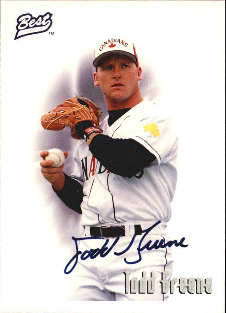 1995 Best Autographs #AU1 Todd Greene