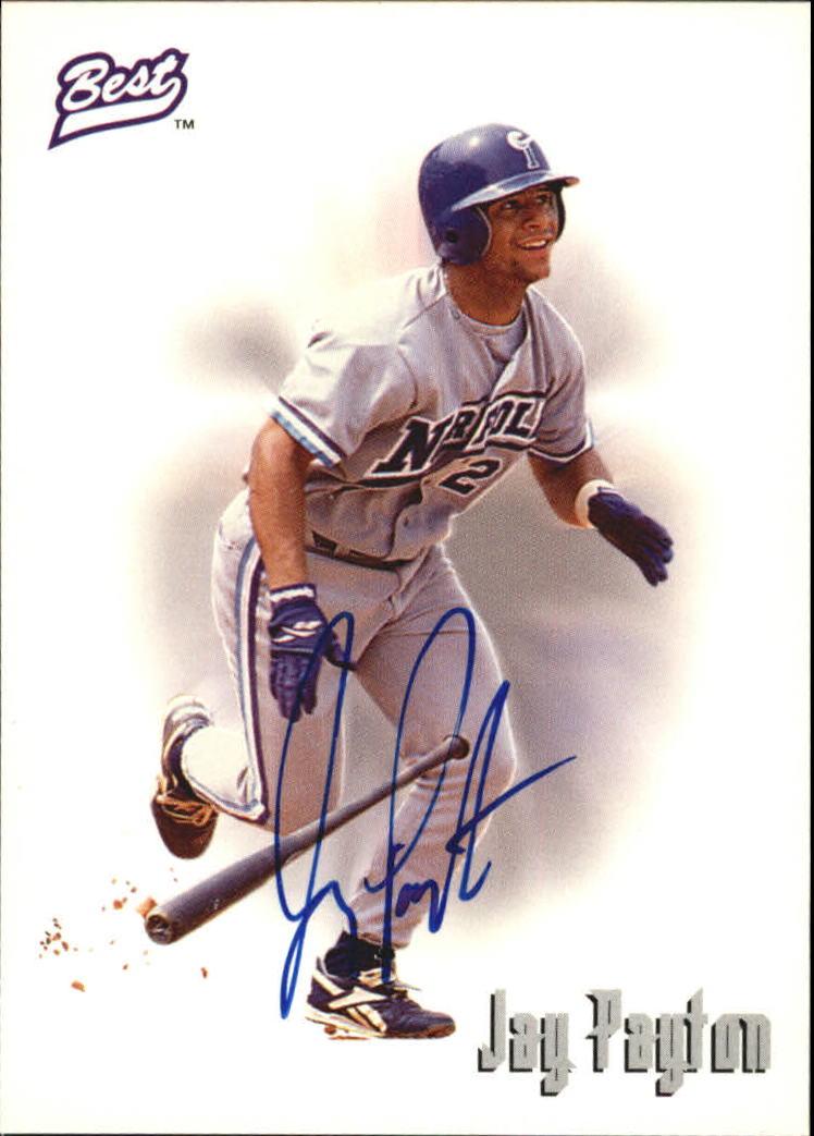 1995 Best Autographs #AU3 Jay Payton