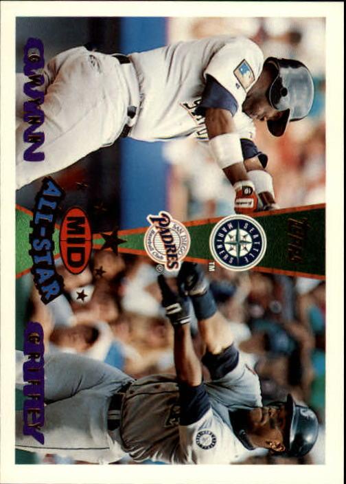 1995 Topps Traded #160T K.Griffey/T.Gwynn AS