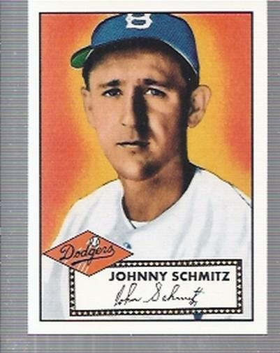 1995 Topps Archives Brooklyn Dodgers #9 Johnny Schmitz