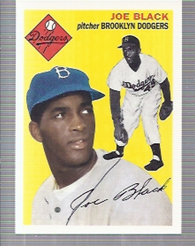 1995 Topps Archives Brooklyn Dodgers #71 Joe Black