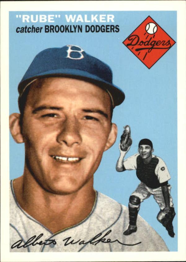 1995 Topps Archives Brooklyn Dodgers #76 Rube Walker