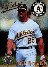 1995 A's CHP #2 Mark McGwire