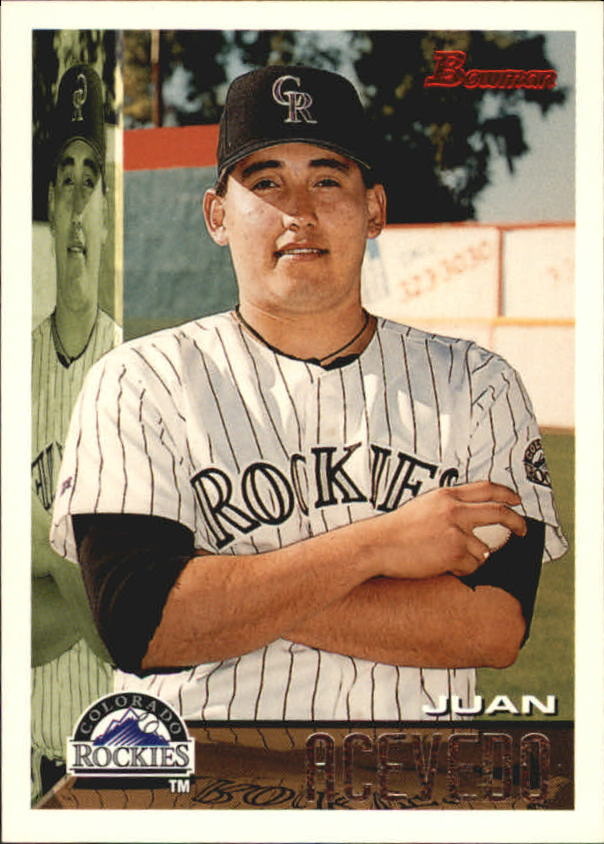 1995 Bowman #6 Juan Acevedo RC